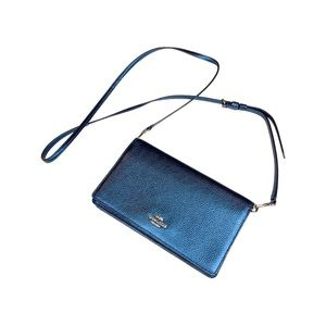 Coach wallet crossbody, Like New!
